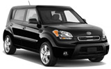 MEX Car rental La Paz - Airport Suv car - Kia Soul
