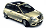 RECORD Car rental Ibiza - Playa Portinatx Economy car - Lancia Ypsilon