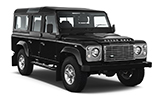 EUROPCAR Car rental Reykjavik - Keflavik International Airport Suv car - Land Rover Defender