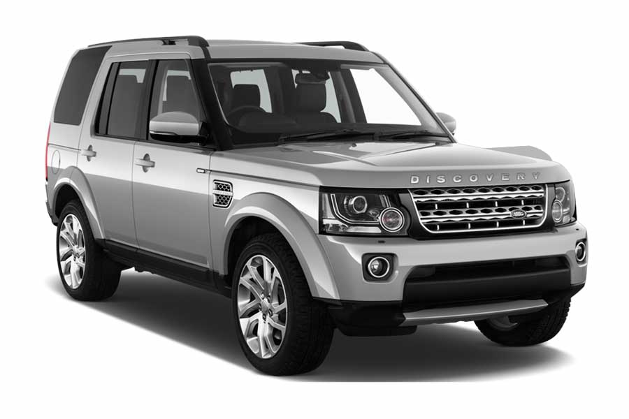 SIXT Car rental George - Airport Suv car - Land Rover Discovery