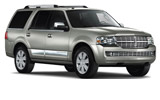 ENTERPRISE Car rental Hilltop Suv car - Lincoln Navigator