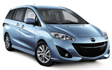 AVIS Car rental Changi Airport - T2 Van car - Mazda 5