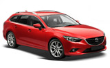 SIXT Car rental Villach Standard car - Mazda 6 Estate