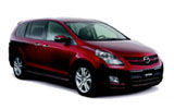 AVIS Car rental Changi Airport - T2 Van car - Mazda 8