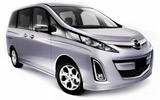 EUROPCAR Car rental Nagoya - Downtown Van car - Mazda Biante 2.0