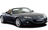 SIXT Car rental Moers Convertible car - Mazda MX-5