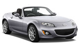 LETZ RENT A CAR Car rental Auckland - Downtown Convertible car - Mazda MX5