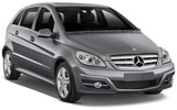 SIXT Car rental Bodo Van car - Mercedes B Class