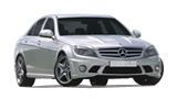 HERTZ Car rental Austin - North Fullsize car - Mercedes C Class