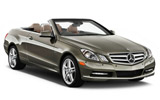 SIXT Car rental Ibiza - Playa Portinatx Convertible car - Mercedes E Class Convertible