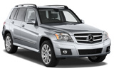 SIXT Car rental Trier Suv car - Mercedes GLK
