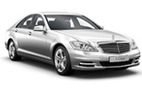 SIXT Car rental Ostrava Svinov Railway Station Luxury car - Mercedes S Class