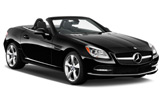 SIXT Car rental Avesta Convertible car - Mercedes SLK Convertible