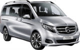SIXT Car rental Ostrava Svinov Railway Station Van car - Mercedes V Class