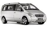 BUDGET Car rental Madrid - Las Rozas - City Van car - Mercedes Viano