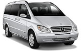 ALAMO Car rental Ibiza - Cala Bassa Van car - Mercedes Vito Traveliner