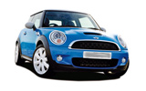 BUDGET Car rental Palanga Airport Economy car - Mini Cooper