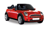 SIXT Car rental Zaventem Downtown Convertible car - Mini Cooper Convertible