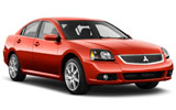 DOLLAR Car rental Queen Alia - Airport Standard car - Mitsubishi Galant