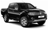 AMERICA Car rental Cancun - Hotel Nh Krystal Van car - Mitsubishi L200