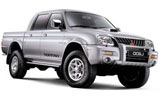 EASY CAR Car rental San Jose - Juan Santamaria Intl. Airport Van car - Mitsubishi L200 Cabstar