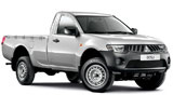 JUMBO CAR Car rental Kourou Van car - Mitsubishi L200 Pickup
