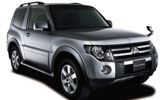 EUROPCAR Car rental Zamalek Downtown Suv car - Mitsubishi Pajero