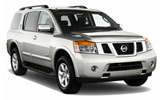 HERTZ Car rental Campbell Suv car - Nissan Armada