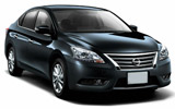 AVIS Car rental Brunei - Airport Standard car - Nissan Bluebird