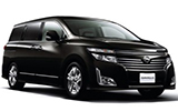 NISSAN Car rental Osaka Airport Van car - Nissan Elgrand