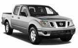 ALAMO Car rental Body Tec - Downtown Van car - Nissan Frontier Pickup