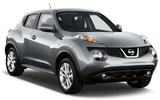 RECORD Car rental Ibiza - Cala Bassa Suv car - Nissan Juke