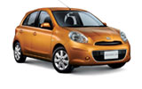 AERCAR Car rental Limassol City Economy car - Nissan March