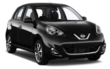 HERTZ Car rental Lugano Downtown Mini car - Nissan Micra