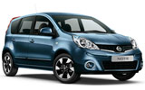 ALAMO Car rental Paros Compact car - Nissan Note