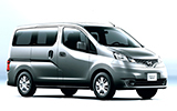 MELI Car rental Bugibba Van car - Nissan NV200