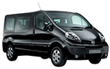 ABBYCAR Car rental Corfu - New Port Van car - Nissan Primastar