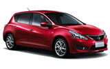 AVIS Car rental Dublin - Airport Compact car - Nissan Pulsar