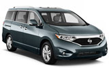 ALAMO Car rental Guam Crown International Plaza Van car - Nissan Quest