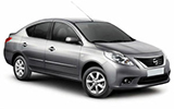 BUDGET Car rental Muscat - Downtown Compact car - Nissan Sunny