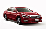 TISCAR Car rental Moscow - Belorussky Railway Station Standard car - Nissan Teana