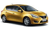 EAST COAST Car rental Auckland Airport - International Terminal Compact car - Nissan Tiida