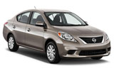 BUDGET Car rental Mazatlan Standard car - Nissan Tiida Sedan