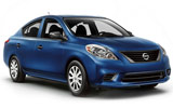 NATIONAL Car rental New Brunswick Train Compact car - Nissan Versa
