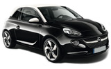 BUDGET Car rental Bologna - City Centre Mini car - Opel Adam