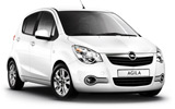CLICK Car rental Budapest - Downtown Mini car - Opel Agila
