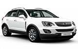 SIXT Car rental Sofia - Airport Suv car - Opel Antara