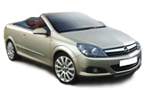 CLICKRENT Car rental Ibiza - Cala Bassa Convertible car - Opel Astra Convertible