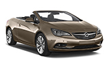 SICILY BY CAR Car rental Cariati - City Centre Convertible car - Opel Cascada