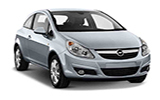 BUDGET Car rental Salzburg Downtown Economy car - Opel Corsa